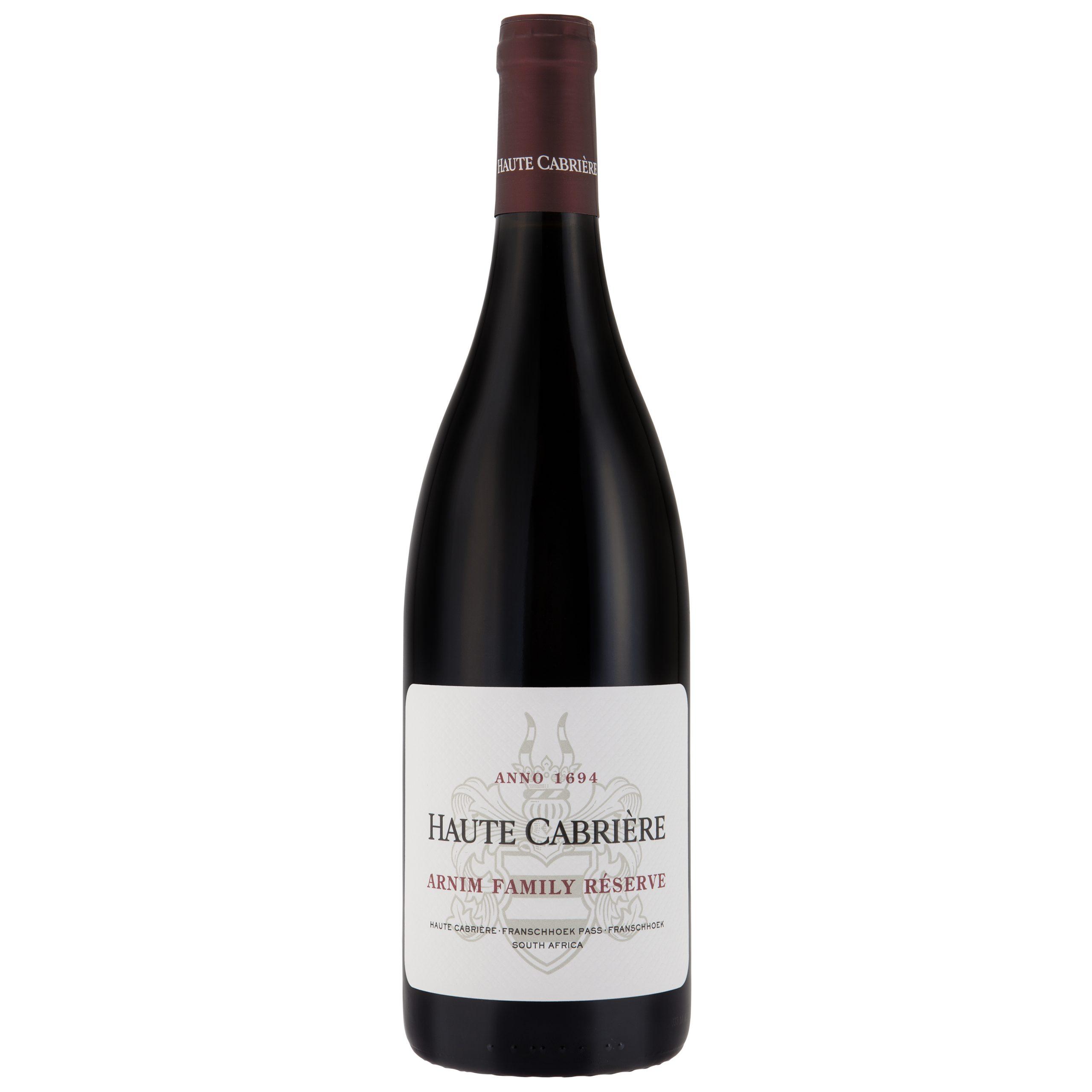 Haute Cabrière -Arnim Family Reserve